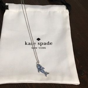 Kate Spade Cali Dreaming Pave Shark Necklace